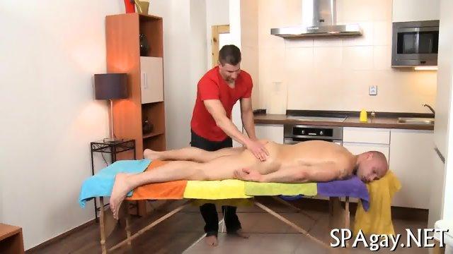 Steamy hot gay massage - scene 2