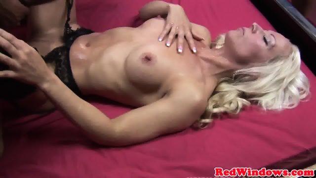 Real dutch hooker sucks and fucks in lingerie - scene 12