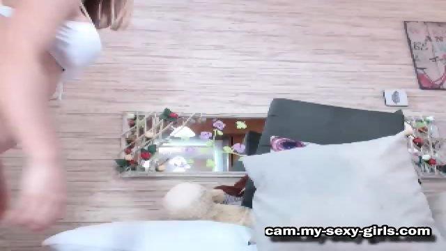horny Stepdaughter Camgirl - scene 12