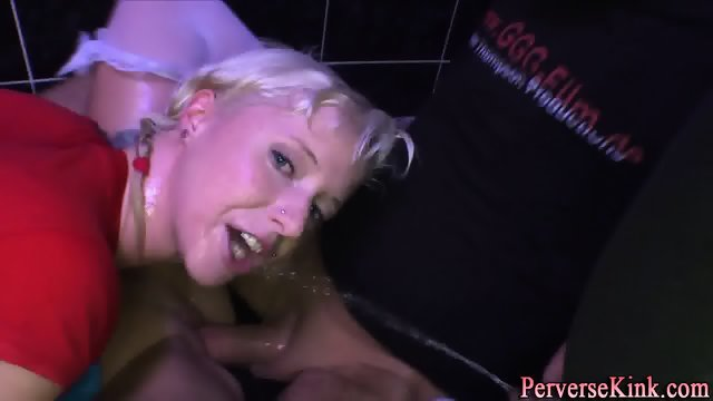 Sucking sluts drink urine - scene 5