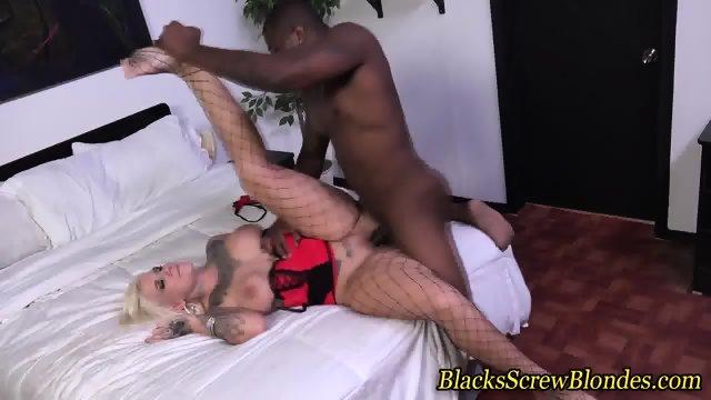 Stockings ho throat black - scene 12