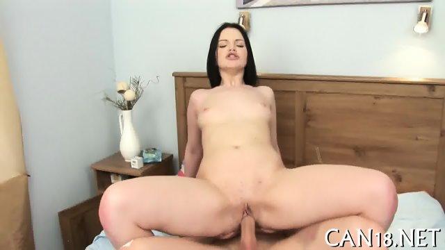 Angel gets her pussy ravished - scene 11