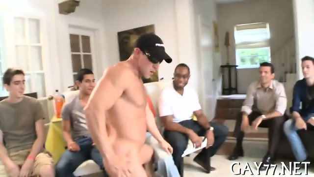 His ass fucked by stripper - scene 1