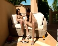 Hot Lesbians Henessy And Venus Play With Each Other - scene 11