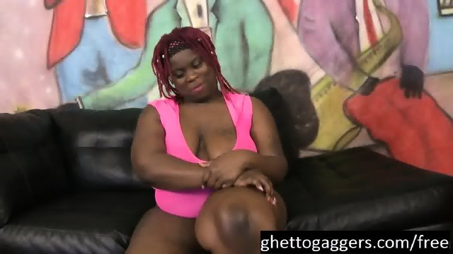 Black BBW Marley XXX Gags On Dicks - scene 3