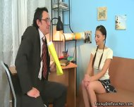 Alissa Arouses Old Man's Dick - scene 1