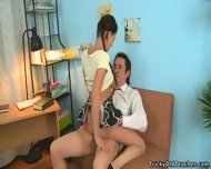 Alissa Arouses Old Man's Dick - scene 9