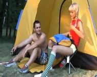 Sex Camp With Really Hot Young Babe - scene 1