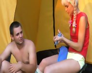 Sex Camp With Really Hot Young Babe - scene 3
