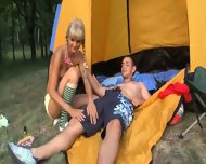 Sex Camp With Really Hot Young Babe - scene 6