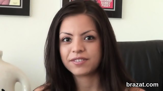 Casting beauty leaves after hardcore sex and ass hole nailing