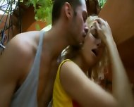Garden Fucking With Horny Nadin - scene 3