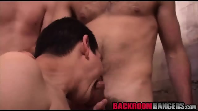 Three gorgeous hot twinks showing their dick sucking skills