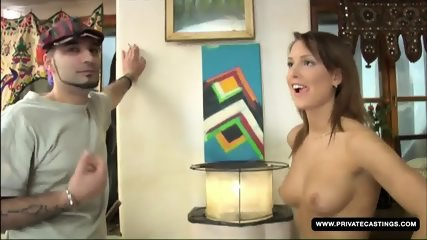 Hana Gives A Blowjob On Camera For The Very First Time - scene 7