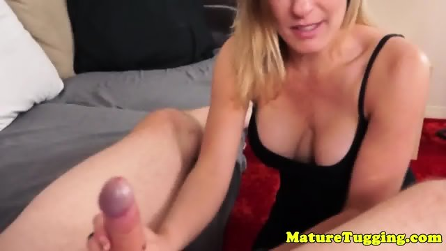Bigtitted stepmom tugging and cocksucking 5
