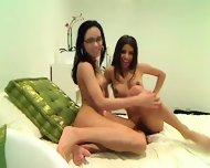 Sexy Lesbians In Front Of The Camera