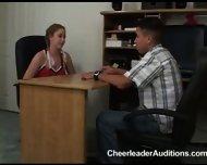 Cheerleader Aspirant prostituting herself for Membership - scene 1