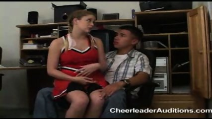 Cheerleader Aspirant prostituting herself for Membership - scene 3