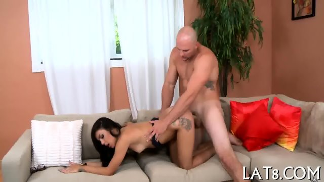 Sensual and wild doggsytyle drilling
