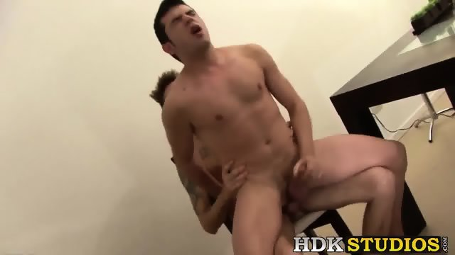 Horny sexy twinks with massive cocks having hot sex action