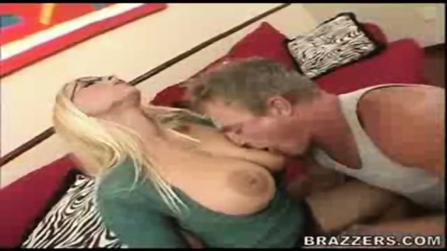 Big Tits Sexy Blonde Blowjob