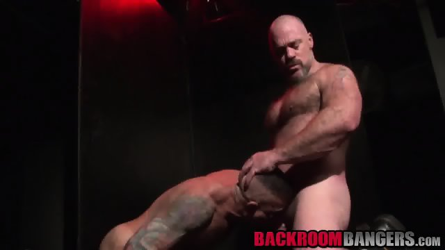 Two gorgeous hunks Nick and Bronson enjoy in hard anal sex