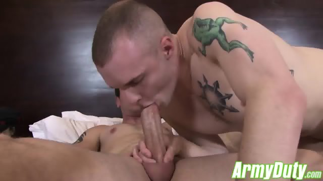 Two horny dudes and John in an expected threesome sex