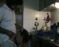 Deep in her in the Kitchen 1 - scene 2