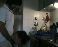 Deep in her in the Kitchen 1 - scene 3