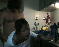 Deep in her in the Kitchen 1 - scene 6