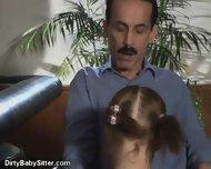 Dirty little Babysitter - scene 1