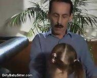 Dirty little Babysitter - scene 3