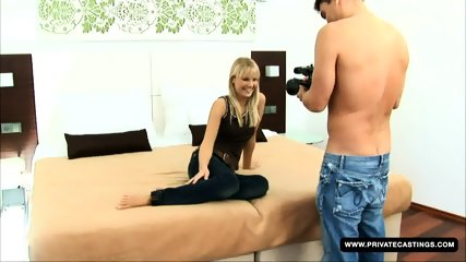 Shooting A Teen Casting With Rose - scene 2