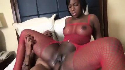 Ebony Chick With Nice Ass - scene 12