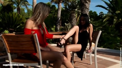 Fruit Lovers By Sapphic Erotica - Lesbian Love Porn With Nadija - Angellina - scene 2