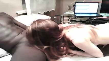 White Cute Girl Having Sex With Black Man - scene 9