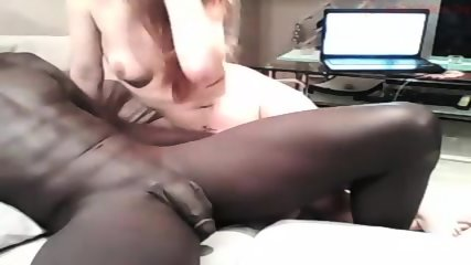 White Cute Girl Having Sex With Black Man - scene 12