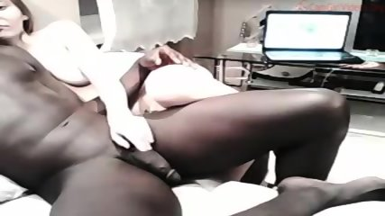 White Cute Girl Having Sex With Black Man - scene 6