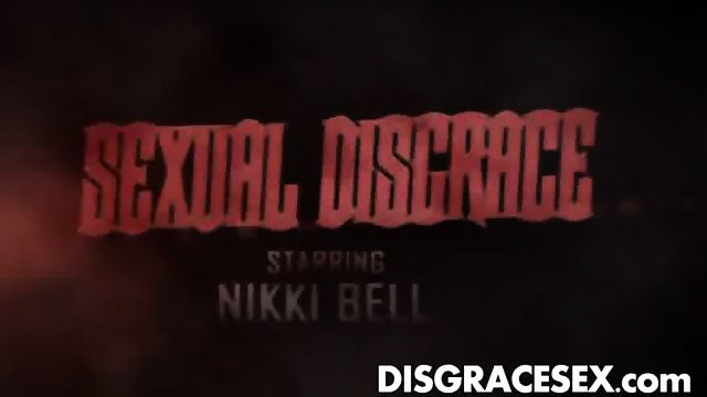Nikki Bells on All 4 Sex Slave Training