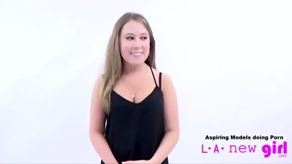 CUTE TEEN SUCKS COCK OF AGENT AT CASTING AUDITION - scene 5