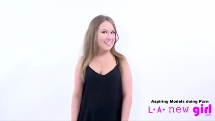 CUTE TEEN SUCKS COCK OF AGENT AT CASTING AUDITION - scene 6