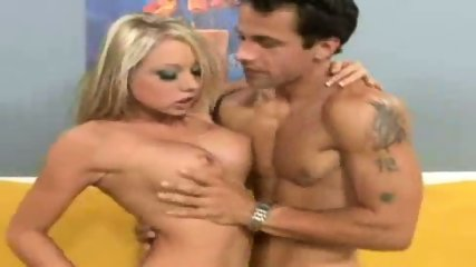 Hot Blonde sucking his dick - scene 9