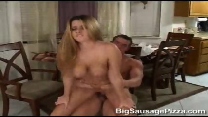 Pizza Boy fucking female Customer - scene 11