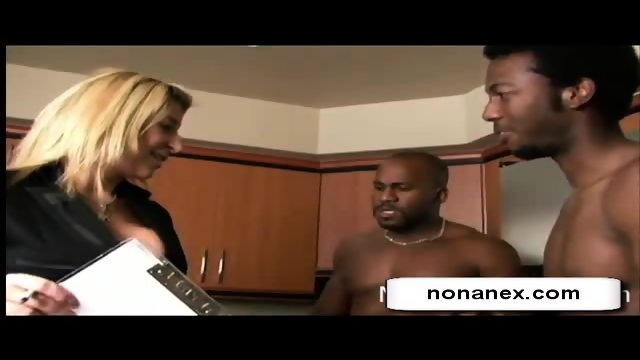 blonde girl fuck 2 boys... on nonanex.com