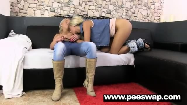 Whitney Conroy gets pissed on by two babes