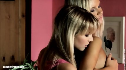 Intimate Sixty Nine From Sapphic Erotica - Sally And Cameron Young Blondes Have Lesbian Sex - scene 4