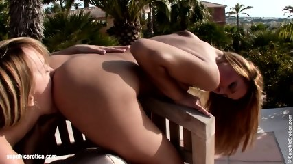 Big Tit Lesbians Klaudia And Beatrice From Sapphic Erotica Go Down On Each Other - scene 11