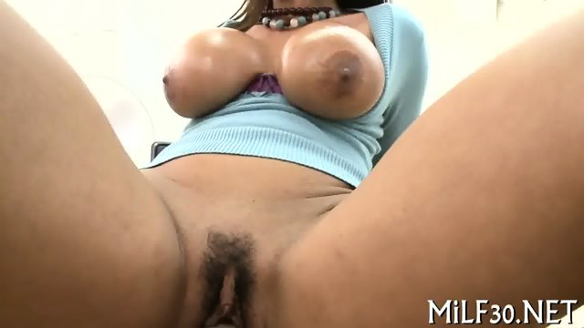 Anal shovelled with hard toy