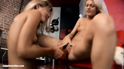 Sexy Lesbians Chiara And Anya Engage In A Hot Twosome On Sapphic Erotica
