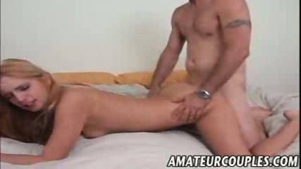 Horny girlfriend fucked hard on the bed - scene 3